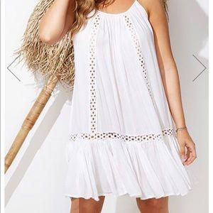 Swimsuits for All Ansley White Crochet Dress 22/24